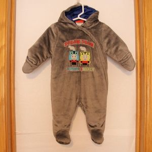 Other - Thomas the Train fully lined baby outdoor suit